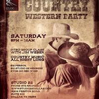 Country Western Party