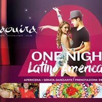 Venerd 27 Ottobre - Apericena e One Night Latino Americano