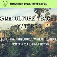 Permaculture Teachers Training