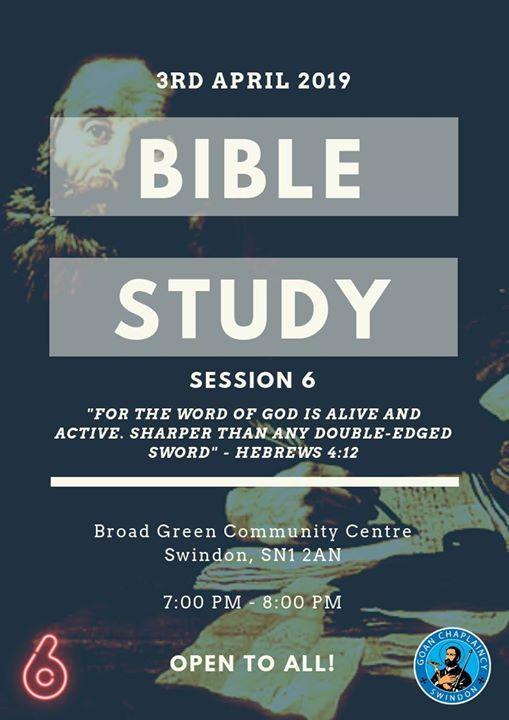 Bible Study Session 6 at Goan Chaplaincy Swindon, Swindon