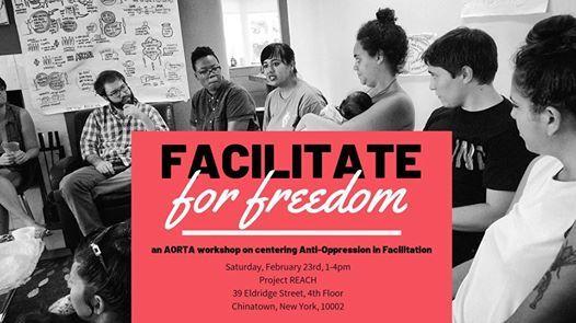 Facilitate for Freedom a facilitation skills workshop