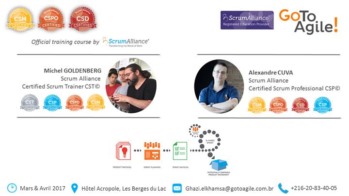 Certifications Scrum Alliance en Tunisie CSM®, CSPO® et CSD® at ...