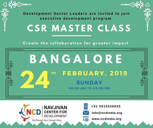 CSR Master Class
