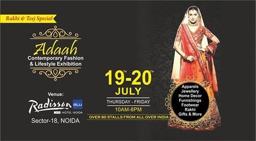 Adaah Fashion & Lifestyle Exhibition 19-20 July at Radisson Blu
