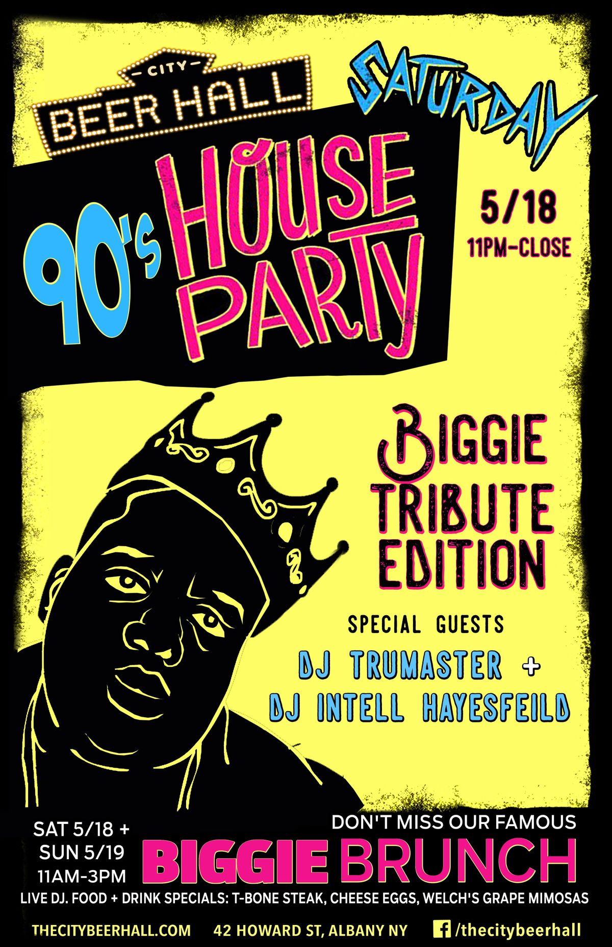 90s House Party - Biggie Tribute Edition