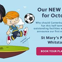 Canterbury &amp Whitstable October Holiday Camp