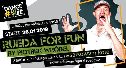 Rueda for fun by Piter - nowy kurs open dla salsowych maniakw