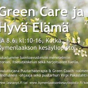 Green Care ja Hyv Elm Kotka
