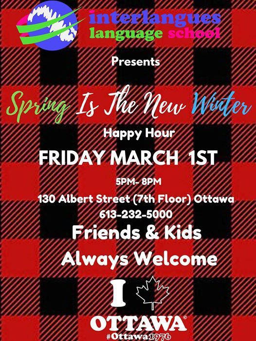 Spring Is The New Winter Happy Hour