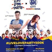 LiveLoveParty500K Zumba Party