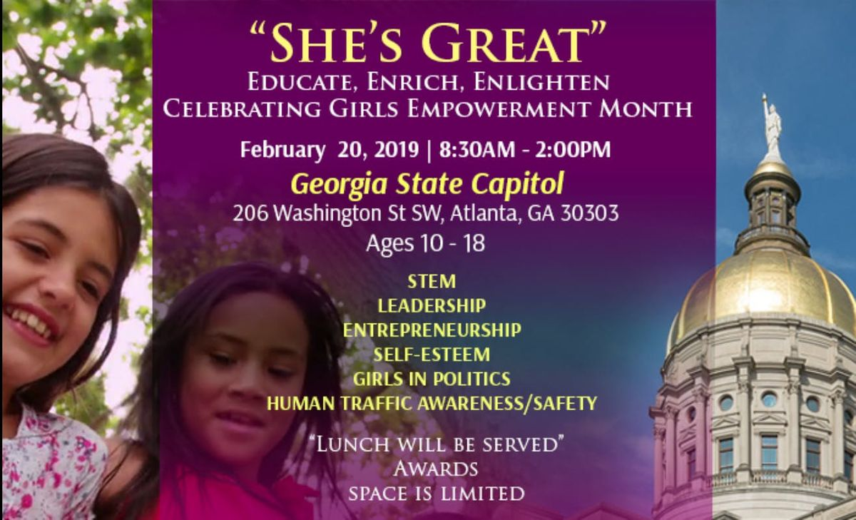 Celebrating Girls Empowerment Month Shes Great