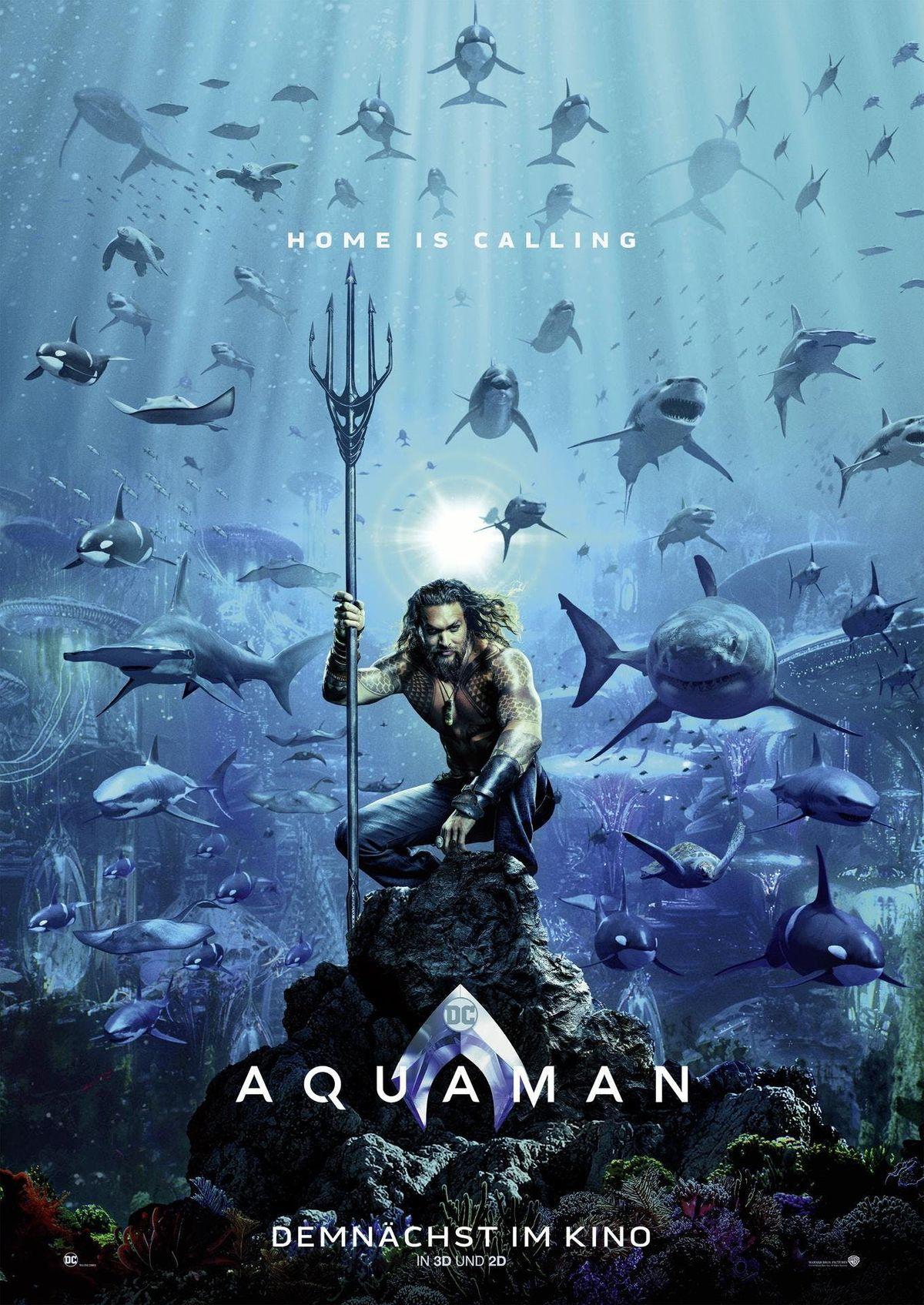 Comic Time Kino-Action Aquaman