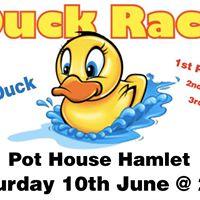 Pot House Hamlet Duck Race - June 10th - 2pm