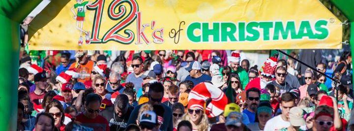 9th annual 12ks of christmas 12k 6k 12k runwalk at freestone park gilbert