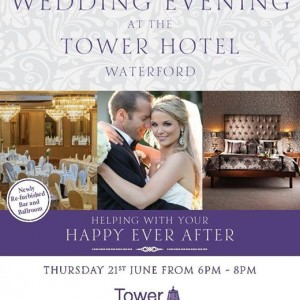 Wedding Evening at the Tower Hotel and Leisure Centre