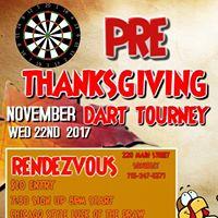 Pre-Turkey Day Dart Tourny