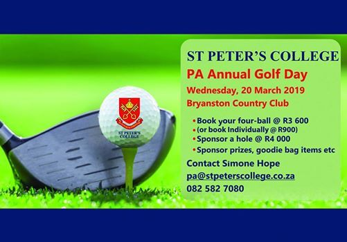 St Peters College PA Annual Golf Day