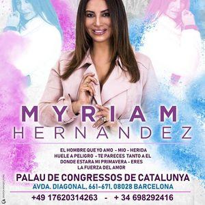 Barcelona - Myriam Hernandez La Fuerza del Amor Tour