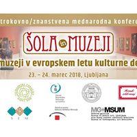 ola in muzeji - II. Znanstvenostrokovna Mednarodna Konferenca