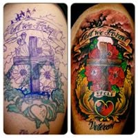 Tattoo removal cover up contest at windfall spa oasis for Tattoo removal az
