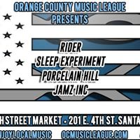 OCML Presents  DTSA Art Walk Rock Sesh w Ryder Porcelain Hill