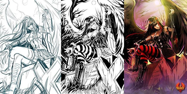 Limited Edition Dark Hunter Coloring Book 01 Out At Http Www