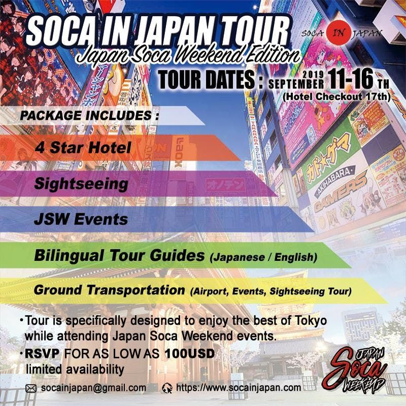 Ragga Soca events in the City  Top Upcoming Events for Ragga