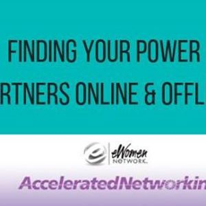 Finding Your Power Partners Online and Offine