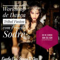 Workshop de Dana Tribal Fusion em Lauro de Freitas