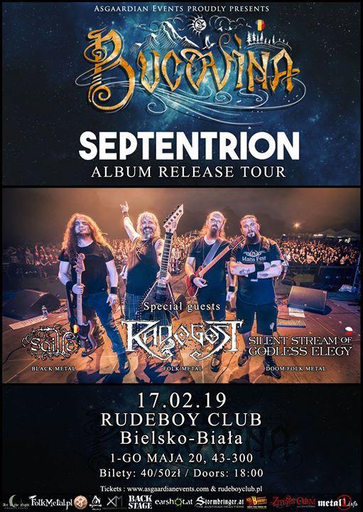 Bucovina album release tour  Radogost & guests  Rudeboy