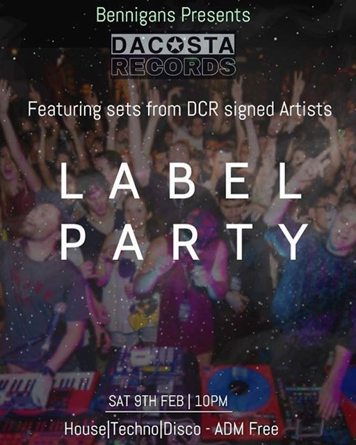 DaCosta Records - LABEL PARTY