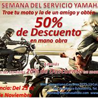 Semana del Servicio Yamaha Saltillo