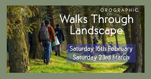 Orographic Walks Through Landscape