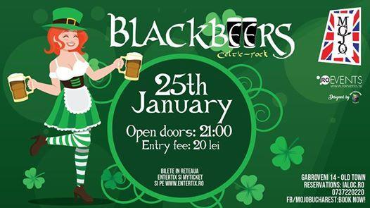 BlackBeers Celtic rock live Mojo