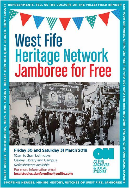West Fife Heritage Jamboree for Free