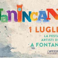 Fontanincanto - la festa degli artisti di strada a Fontanellato