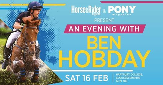 SOLD OUT - An Evening with Ben Hobday