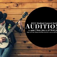 Auditions for JCCC Student Concert Series