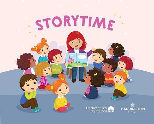 Free Storytime at Barrington