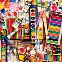 Art Supplies Tag Sale