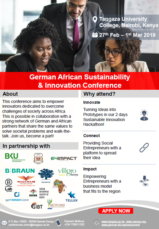 German-African Sustainability & Innovation Conference