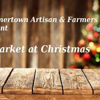 A Market at Christmas
