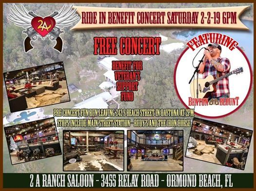 Benefit Ride And Concert For Veterans Support Fund