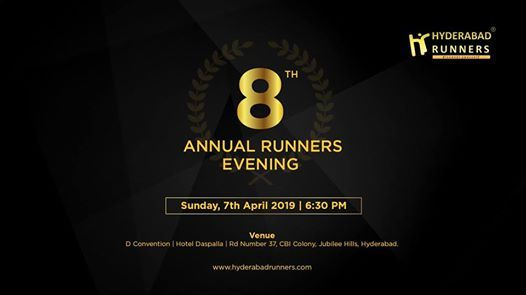 Hyderabad Runners Annual Awards Evening 2019