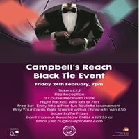 Campbells Reach Charity Black Tie Event