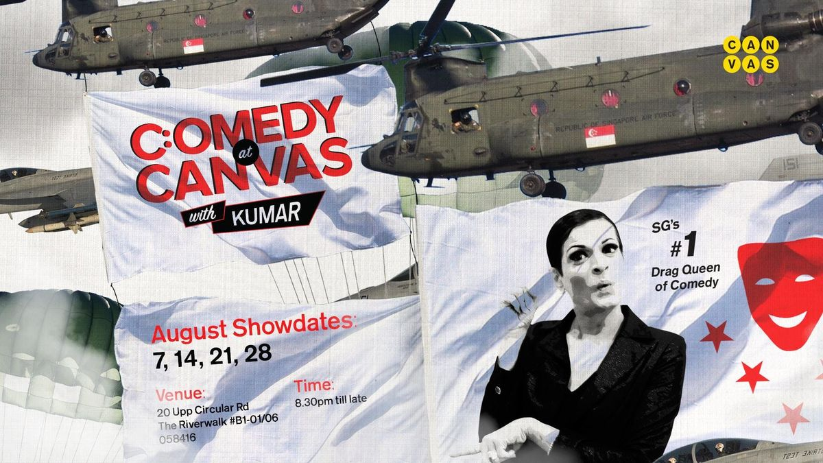 Comedy at Canvas w Kumar [14.08.2018]