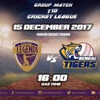 Punjabi Legends vs Bengal Tigers