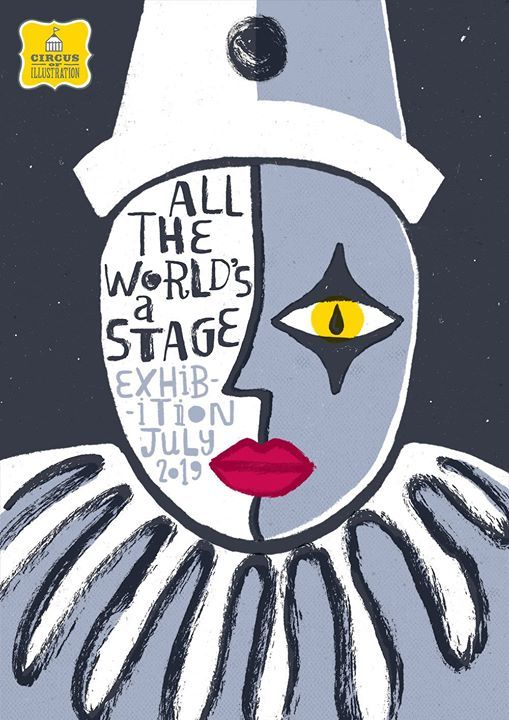 Circus of Illustration All The Worlds A Stage