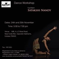 Movement Training By Satakshi Nandy