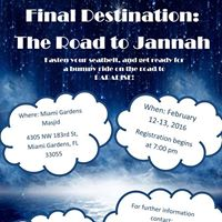 Final Destination The Road to Jannah